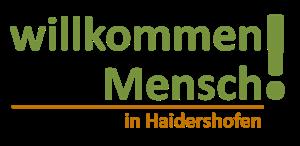 Willkommen Mensch in Haidershofen
